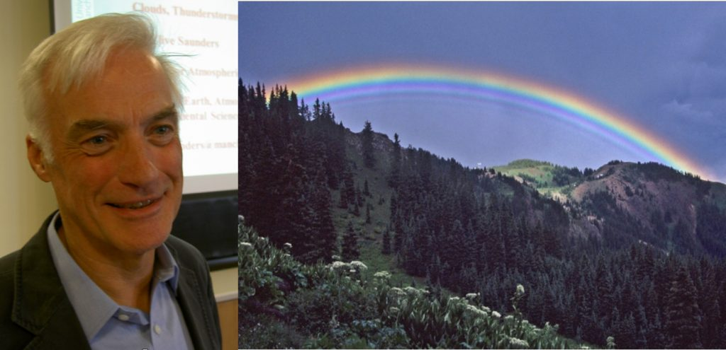 'Atmospheric Optical Phenomena: Rainbows, Halos & Glories' @ Zoom video conference