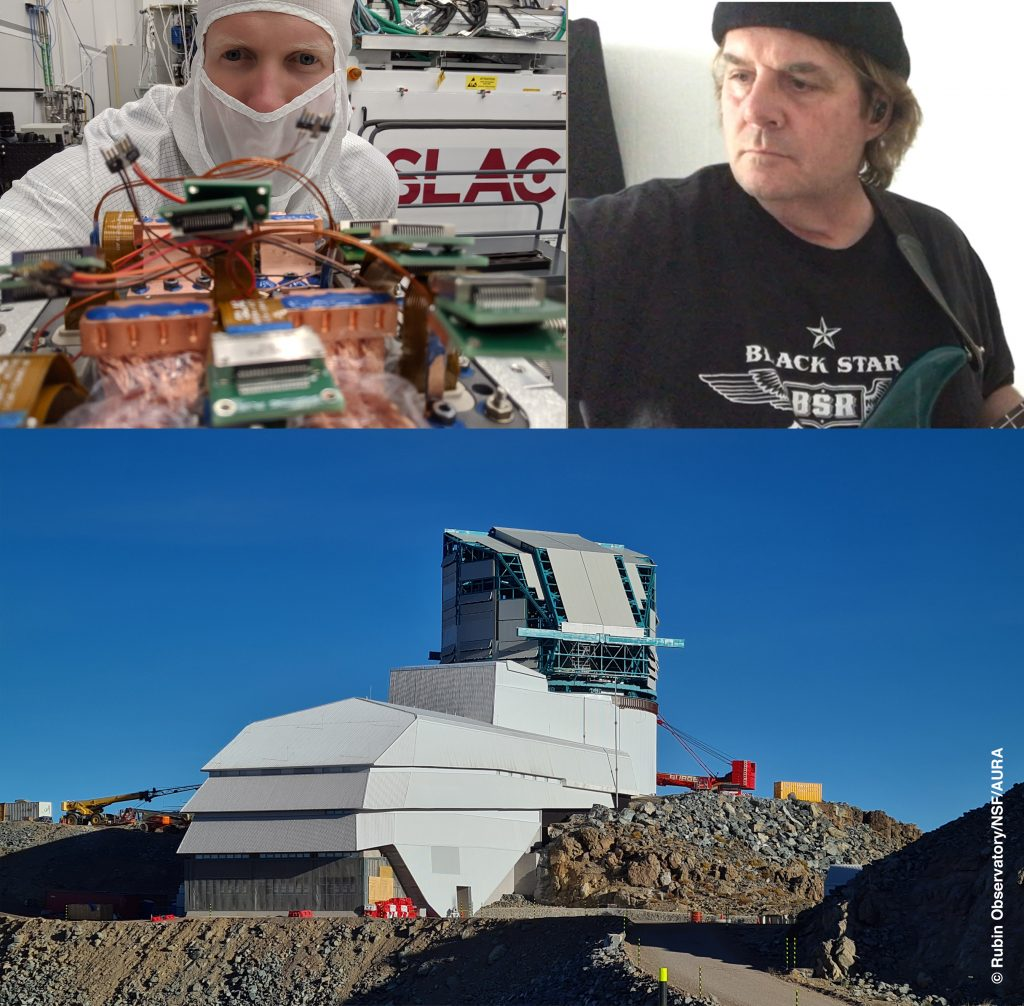 'How we look at Space and Time at VRO' & 'Sudden StarLink Syndrome' @ Zoom Video Conference
