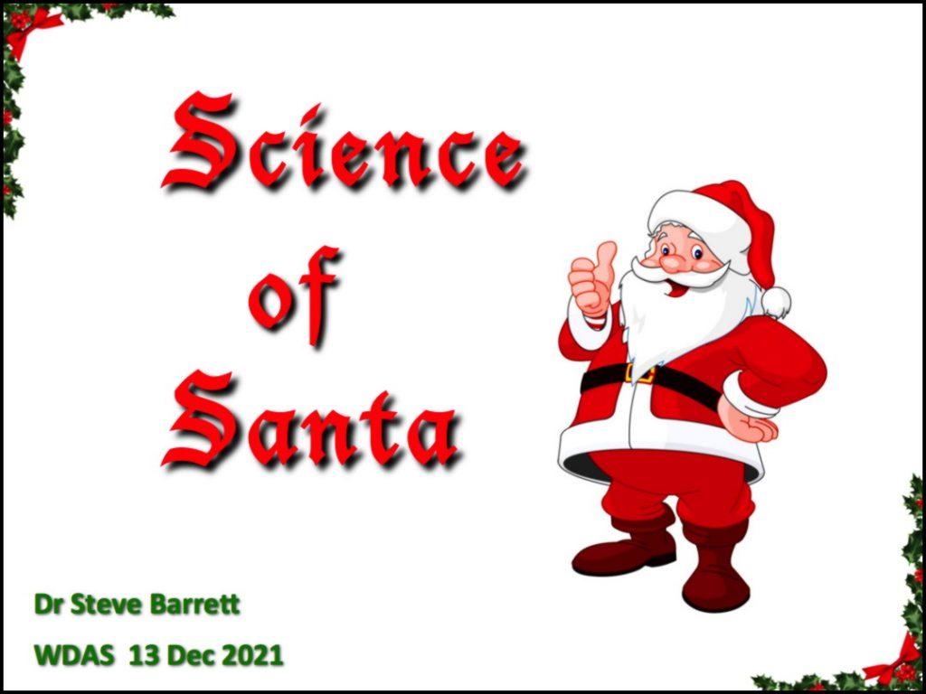 The Science of Santa @ Cavendish Road Primary School