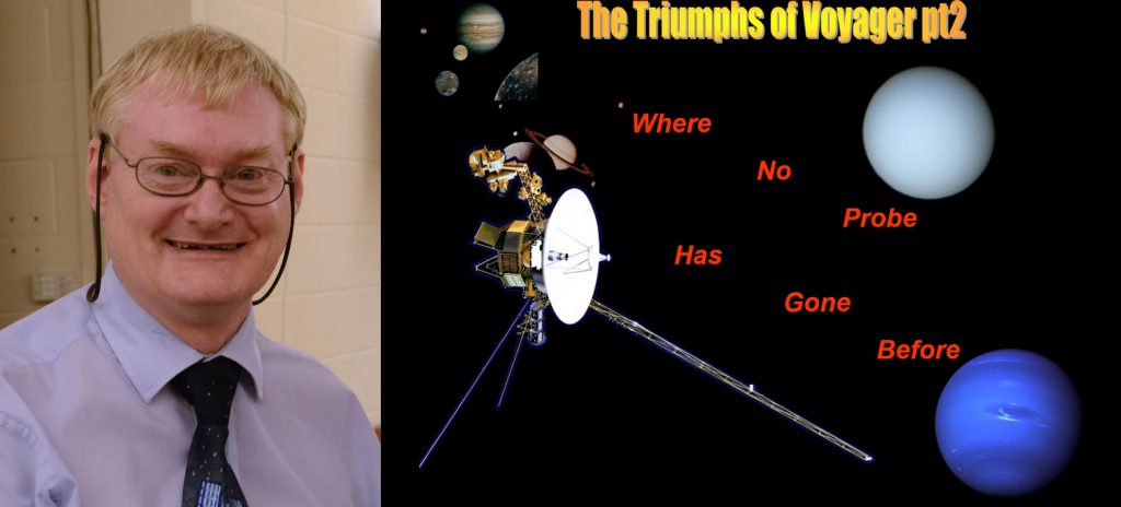 'Triumphs of Voyager Part 2: Where no probe has gone before' @ Cavendish Road Primary School